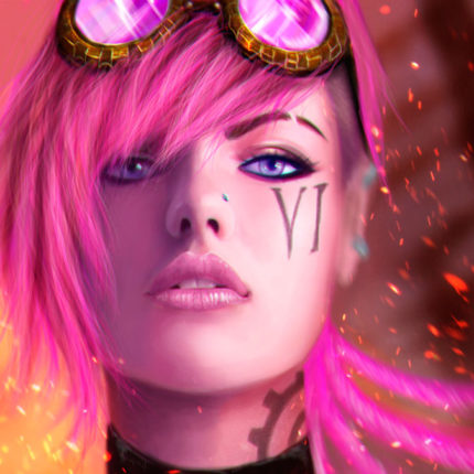Vi the piltover enforcer league of legends